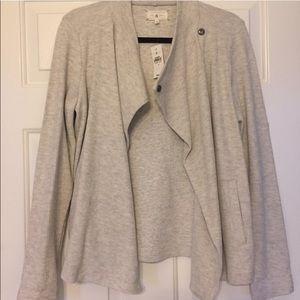 Lou and Grey sweater sweatshirt snap jacket